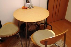 リビング:ティーテーブル