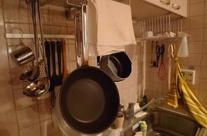 カフェ風キッチン・インテリア