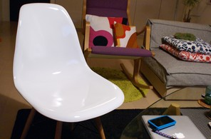 リビングの椅子たち1
