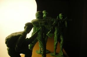 緑色の方々