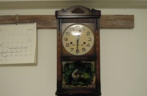 レトロな古時計
