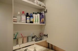 洗面所の収納その1