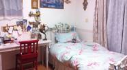 一部屋が寝室兼書斎