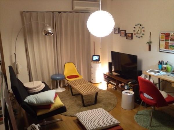 「リビング兼勉強部屋」tamasanの部屋