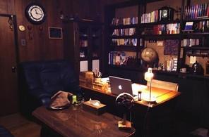 大して変化していない書斎