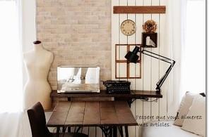 リビングのカフェ空間