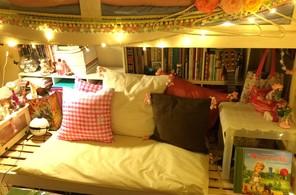 二段ベッド(下)