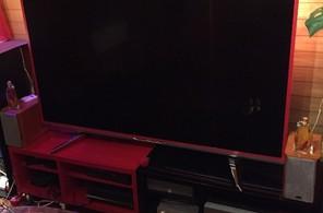 マスキングテープでテレビをデコレーション