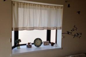 出窓のディスプレイ