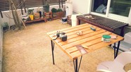 DIY!ガーデンテーブル