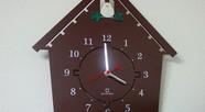 鳴かない鳩時計