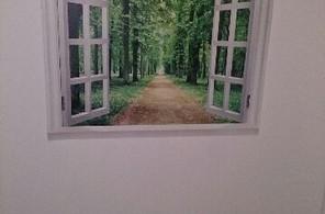 バスルームの窓