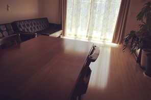 シンプルな部屋(リビング)