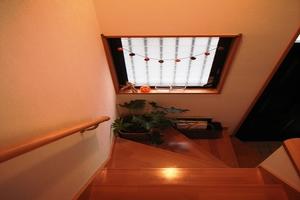 階段:ハロウィン仕様