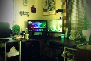 2011年12月頃の作業机
