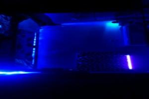 ベッド周り(LED100発)