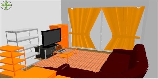 今の状態@Sweet Home 3D