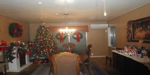 クリスマスダイニングルーム